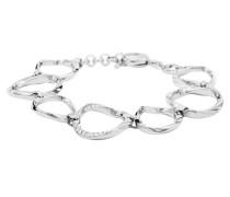 Armband Edelstahl mit Glassteinen JF01145040