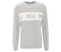 Sweatshirt, Baumwolle, Label-Print, Ripp-Details