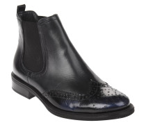 Chelsea Boots, Leder, Budapester-Stil, Lack