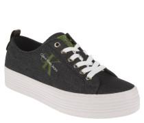"""Sneaker """"Zolah Denim"""", Plateau-Sohle, Logo-Print"""