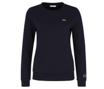 Sweatshirt, Label-Logo, Rippbündchen, unifarben