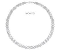 Halskette Lace, 5374578, Crystal