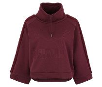 "Sweatshirt ""Downtown Winterized"", Schlauchkragen, Fledermaus-Ärmel"
