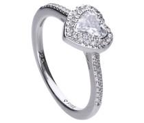 Ring, mit Zirkonia, Herz, , 61-1400-1-082