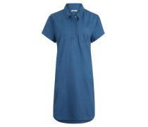 Kleid, Eingrifftaschen, Brusttasche, Denim-Optik