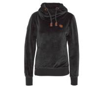 Sweatshirt, Logo-Emblem, Kordelzug, Schlauchkragen