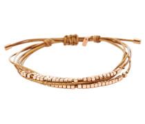 Damen Armband Dainty Rondell Slider beige JA6422791