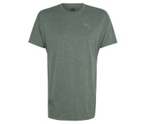 T-Shirt, schnelltrocknend, meliert, Rundhalsausschnitt