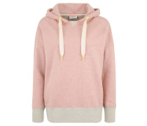 Sweatshirt, Kapuze, Logo-Applikation, Kontrast-Bündchen