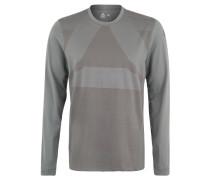 Langarmshirt, schnelltrocknend, wärmend, Label-Print