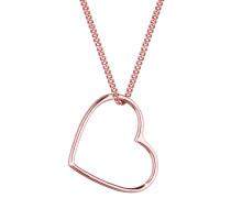 Halskette Herz Liebe 925 Sterling Silber
