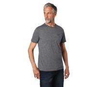 """T-Shirt """"Todd"""", Piqué, Logo-Stickerei, Brusttasche"""