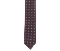 Krawatte, Seide, Allover-Print