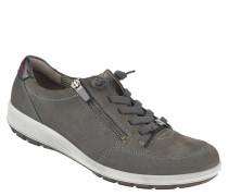 """Sneaker """"Tokio"""", Leder, Reißverschluss, Zier-Schnürung"""