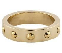 Ring veret mit Kristallen Messing veret gelb 430070046