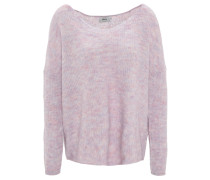 Pullover, meliert, Woll-Anteil
