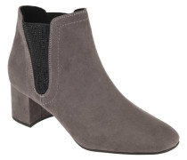 Ankle Boots, Elastik-Einsätze, Strass, Ziernähte