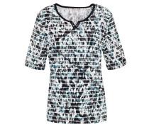 T-Shirt, Henley-Ausschnitt, Nieten