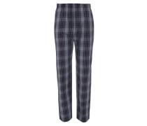 Schlafhose, lang, kariert, elastischer Bund, Baumwolle