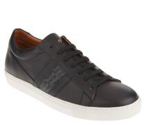 Sneaker, Leder, Logo-Print, herausnehmbare Sohle