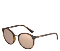 """Sonnenbrille """"VO 5166-S W6565R"""", Rund, verspiegelt, Horn-Optik"""