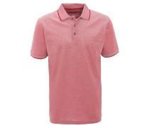 Poloshirt, Baumwoll-Piqué, Brusttasche, Kontrastnähte