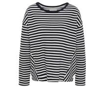Sweatshirt, Streifen, überschnittene Schultern