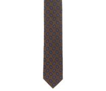Krawatte, reine Seide, Ornament-Muster