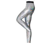 "Leggings ""Wet Look"", Glitzer"