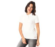 Poloshirt, Piqué, Spitzen-Detail, Herz-Stickerei