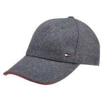 Cap, Woll-Mix, Emblem, verstellbar, gefüttert