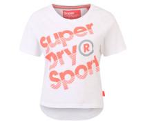 T-Shirt, Logoprint, Rundhalsausschnitt, Jersey