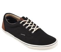 Sneaker, Textil, Leder-Patch, Canvas