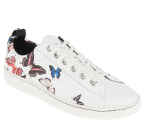 "Sneaker ""Briley Print"", Leder, Schmetterlings-Print"