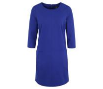 Minikleid, 3/4-Arm, Jersey, Ziernähte, Taschen, unifarben