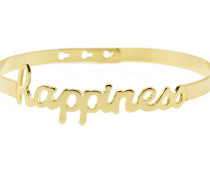 "Armband ""Happiness Skript"" JC-43.G"