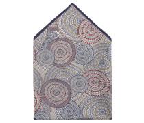 Einstecktuch, Baumwolle, Kreis-Muster