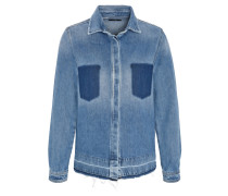 "Jacke ""Diota"", Jeans, Patches, Baumwolle"