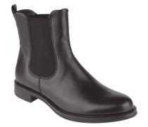 Chelsea-Boots, Leder, Stretch-Einsatz, Blockabsatz