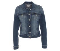 Jeansjacke, kurzer Schnitt, Brusttaschen