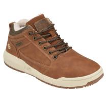 Sneaker, Warmfutter, Logo, Atmungslöcher, uni