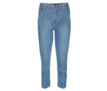 Jeans, Mom-Jeans-Stil, Taschen, hohe Taille