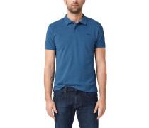 Poloshirt, Regular Fit, Baumwollpiqué, uni