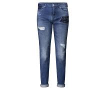 "Jeans ""Girlfriend"", Destroyed-Effekte, Loose Fit"