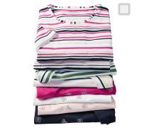 T-Shirt, Halbarm, Baumwoll-Mix, Strass-Steine