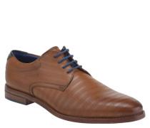 Business-Schnürer, Leder, farblich abgesetzte Schnürsenkel