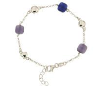 Armband mit bunten Steinen, Sterling  925