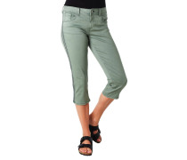 "Jeans ""Alexa"", Capri-Länge, Slim Leg, Galonstreifen"