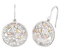 Ohrhänger Lebensbaum Silber Tricolore 21mm ERE-TREE-TRICO