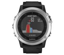 fenix 3 HR Smartwatch 010-01338-77, Silber